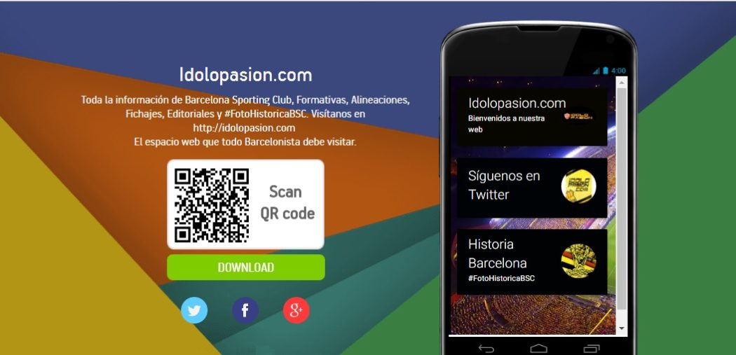Descarga nuestra App para dispositivos Android