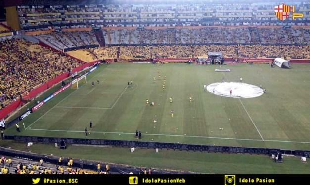 Ubicación de hinchada visitante para los partidos ante Liga, Independiente y Estudiantes
