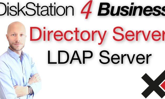 DiskStation 4 Business LDAP Directory Server einrichten