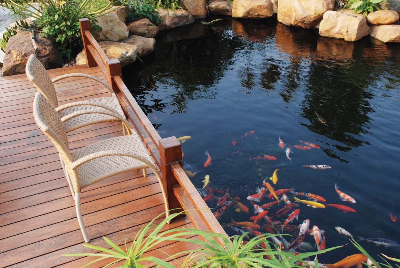 20 Koi Pond Ideas To Create A Unique Garden - I Do Myself on Koi Ponds Ideas  id=97845