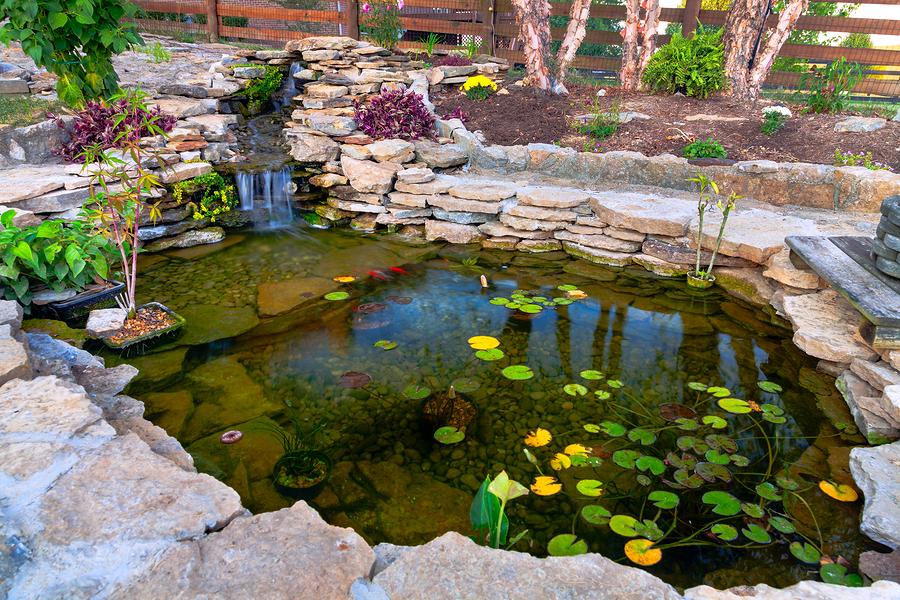 20 Koi Pond Ideas To Create A Unique Garden - I Do Myself on Koi Ponds Ideas  id=71808