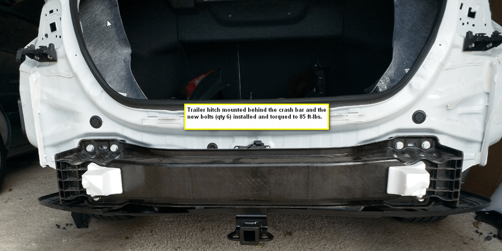 Installing A Trailer Hitch On A 2018 Honda Clarity « Russ