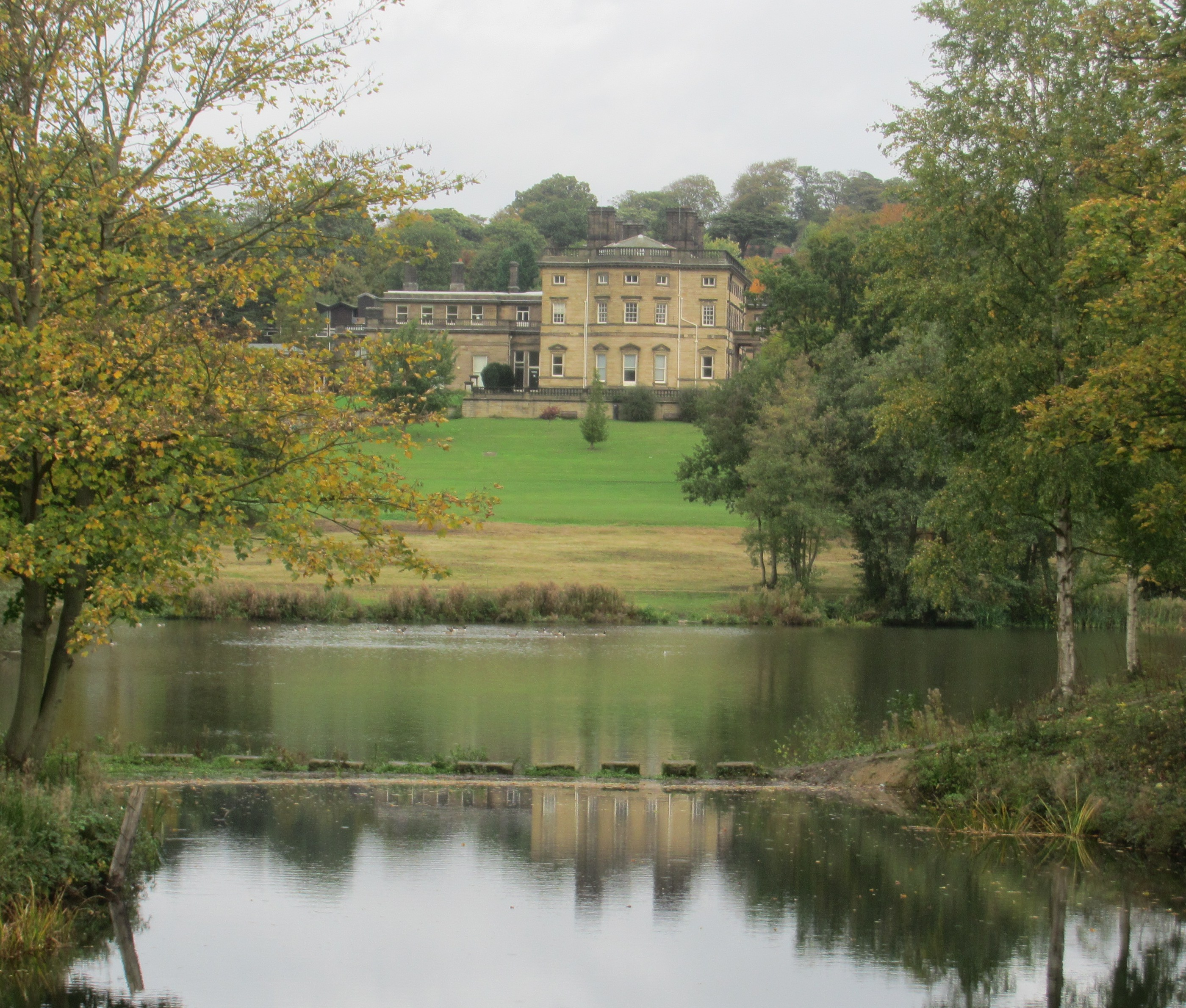 Grand Halls Parks And Sculpture Of South Yorkshire In Autumns Glory I Do Not Despair