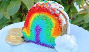 How to Make a Rainbow Cake {Rainbow on the Inside}- Free Cake Video   My Cake School