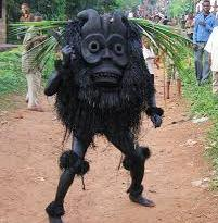 A masquerade in Abia state