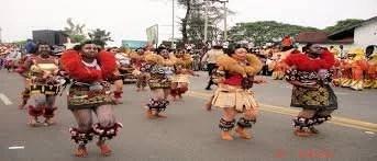 Dancers in Cross River State