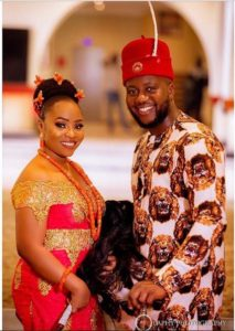 SEE SWEET LOVE!!! THESE AMAZING OUTFITS FOR TRADITIONAL MARRIAGES WILL MAKE YOU MOVE YOUR WEDDING DATE!  edotraditionalwedding wed 213x300