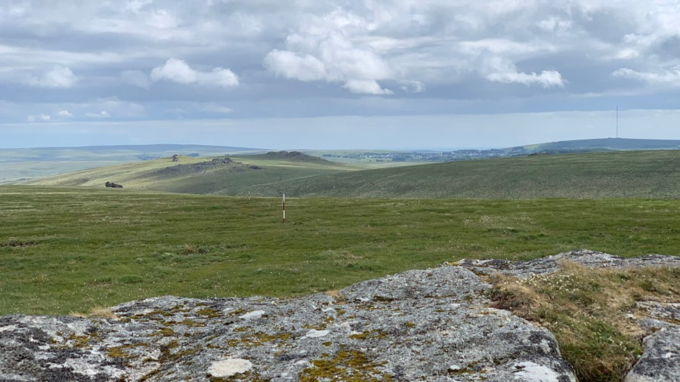 View from Rough Tor Dartmoor