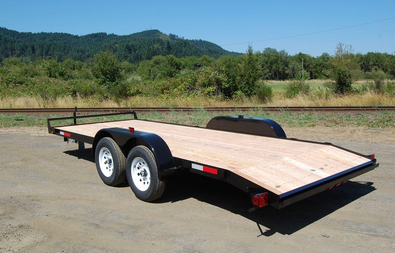 Deck-Between trailer