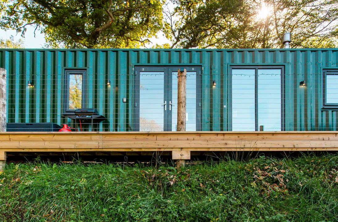 Shipping container Tiny House UK
