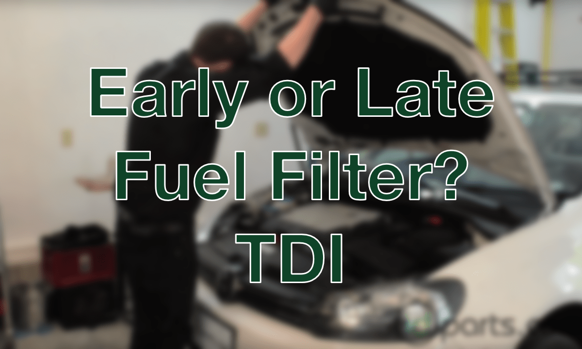 Fuel Filter Diesel News Info And Guides 2012 Sprinter Location Early Type