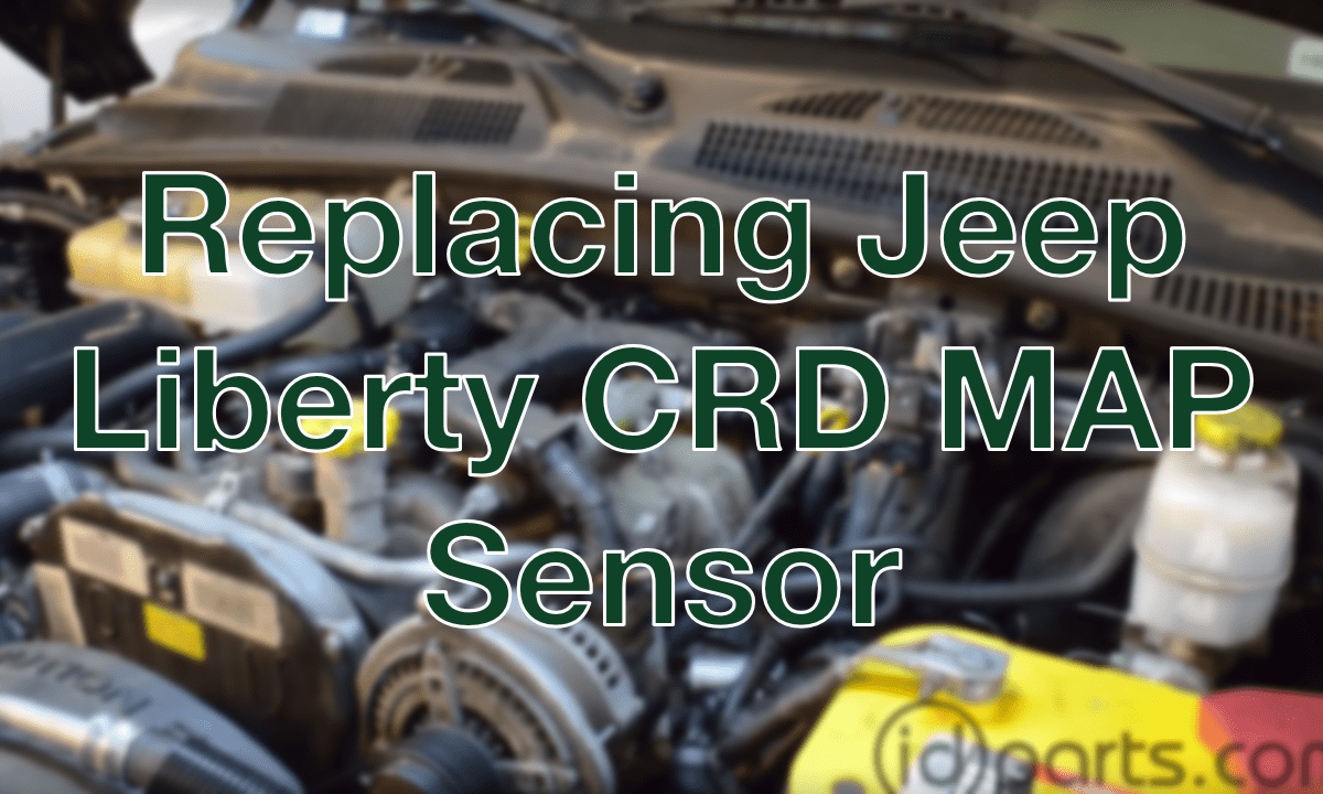 Replacing Liberty Crd Map Sensor Diesel News Info And Guides A Of Wiring For 2005 Jeep Grand Cherokee
