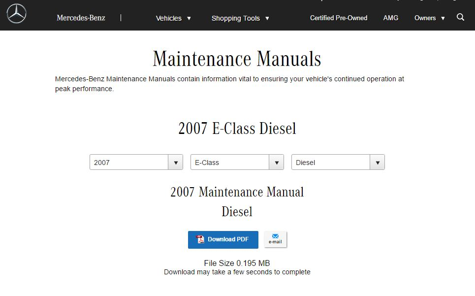 since 2007, the om642 motor has been mercedes's standby diesel engine  here  is a list of basic service intervals for this engine across models and a  good