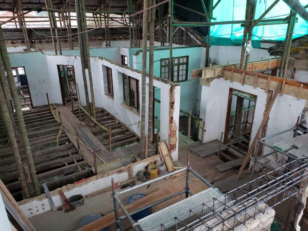 IDPC - Casa tito - Estructura