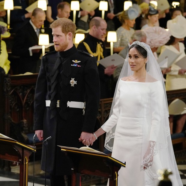 Meghan Markle e príncipe Harry (Foto: Getty Images)