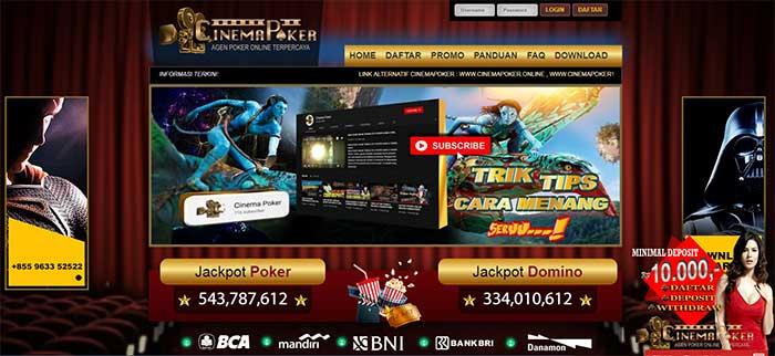 Halaman Depan Cinemapoker