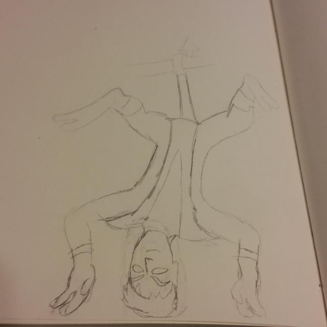 Pencil Drawing of I Draw Bad for Nightcrawler