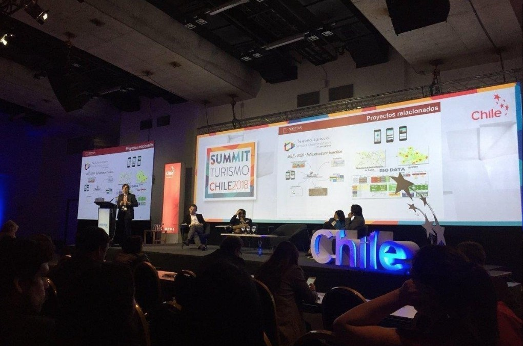 El director de I+D+i de SEGITTUR en Summit Turismo Chile