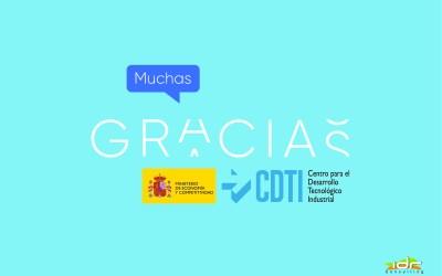 Gracias CDTI