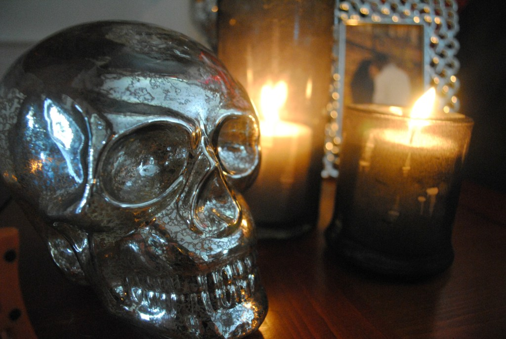 Spooky Halloween Candle Holders