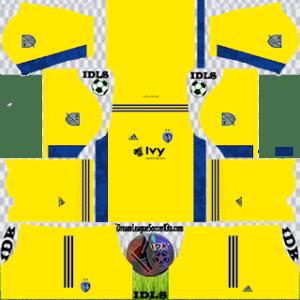 Sporting Kansas City DLS Kit 2021 gk home For DLS19