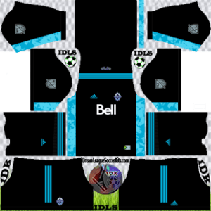 Vancouver Whitecaps kit dls 2021 gk away