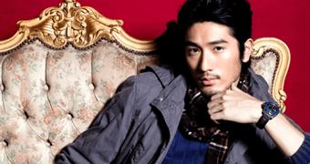 """Revista """"Bop and Tiger Beat"""" entrevista Godfrey Gao!"""
