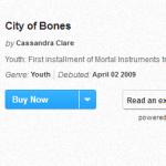 """""""Cidade dos Ossos"""" em primeiro lugar na lista dos livros mais vendidos da USA Today"""