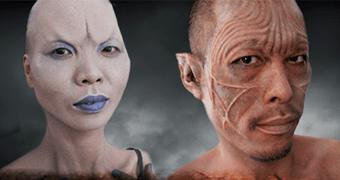 """A arte na maquiagem de """"Os Instrumentos Mortais: Cidade dos Ossos"""""""