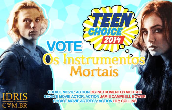 "[ATUALIZADO] ""Os Instrumentos Mortais: Cidade dos Ossos"" indicado ao Teen Choice Awards 2014"
