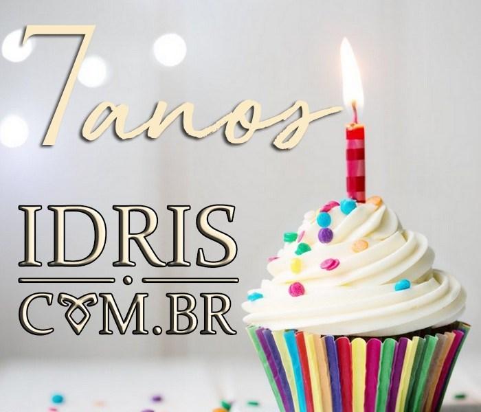 IdrisBR faz 7 anos e traz uma promoção pra vocês!