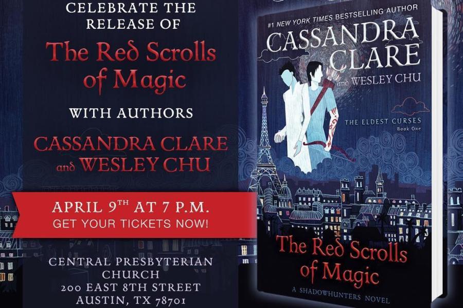 """Evento de lançamento de """"Red Scrolls of Magic""""!"""