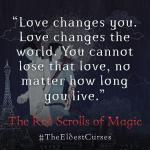 """Trecho e Imagem de """"Red Scrolls of Magic"""" de Dia de São Valentim!"""