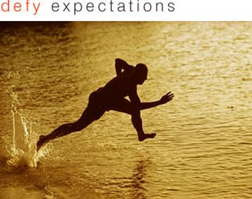 Focus on your expectations, not your limitations!  (4/6)