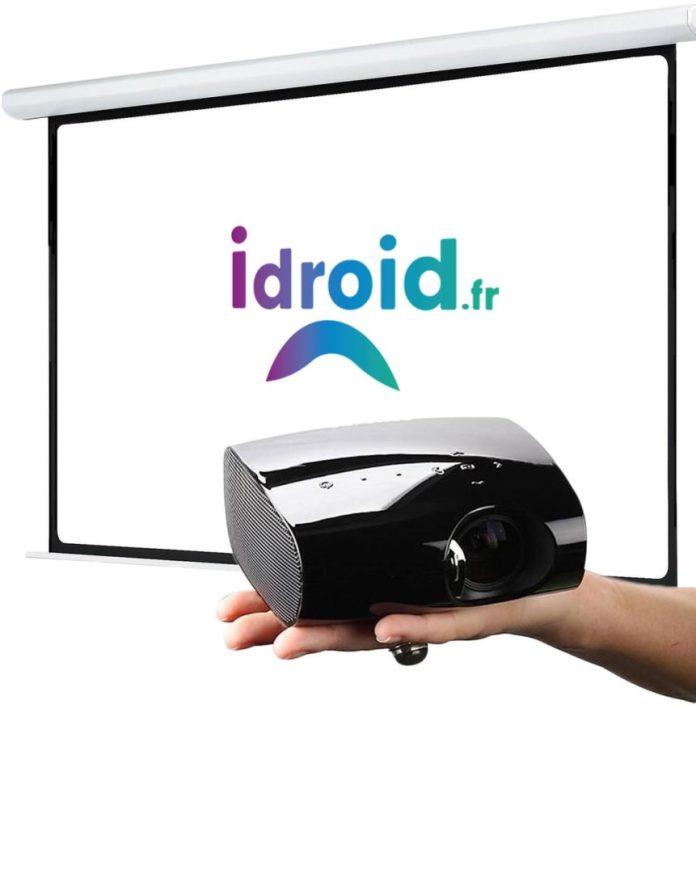 Solution d'écran pour video projecteur pas cher pour 39€