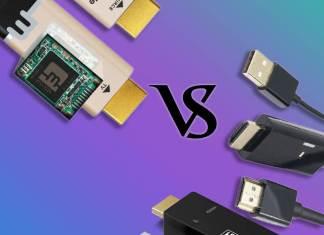Comparatif câble HDMI actif, Mcable (VTV-2223) Vs TBS2234 (VTV-2222)