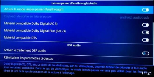 mode passthrough mi box 3 idroid.fr true HD DTSX