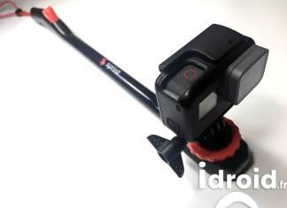 Spivo 360 la perche à selfie ultime pour action Cam et smartphone