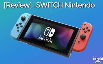 Switch Nintendo une console salon pour la famille transportable