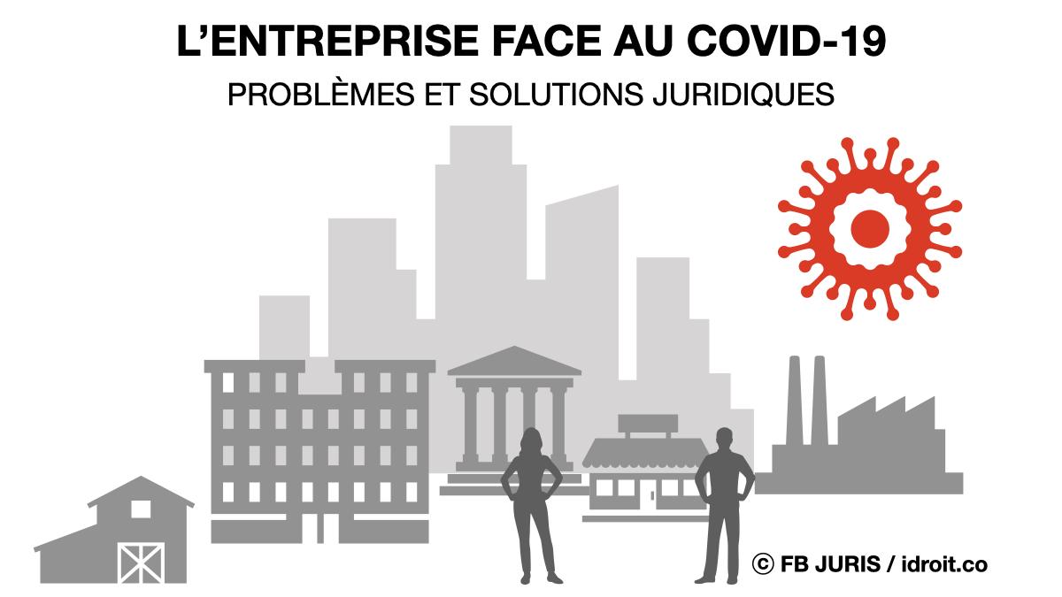 L'entreprise face au Covid-19 : problèmes et solutions juridiques