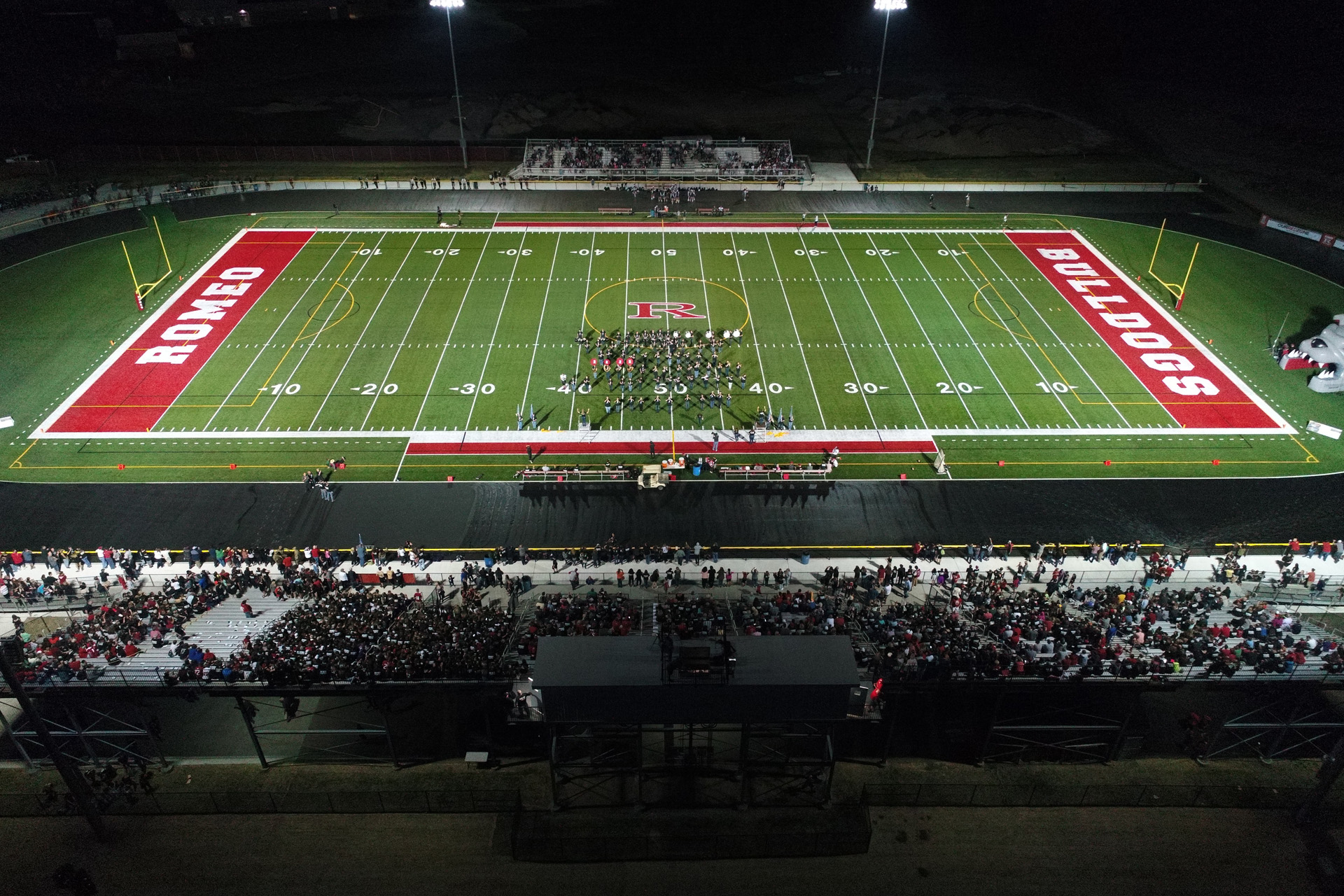 Romeo High School Barnabo Field