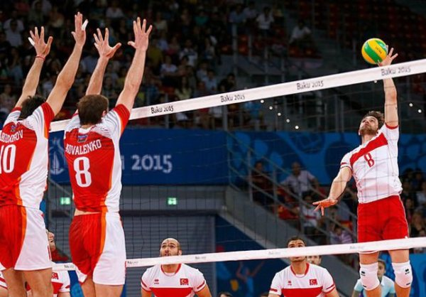 Turkish men's volleyball team advance to quarter finals in ...