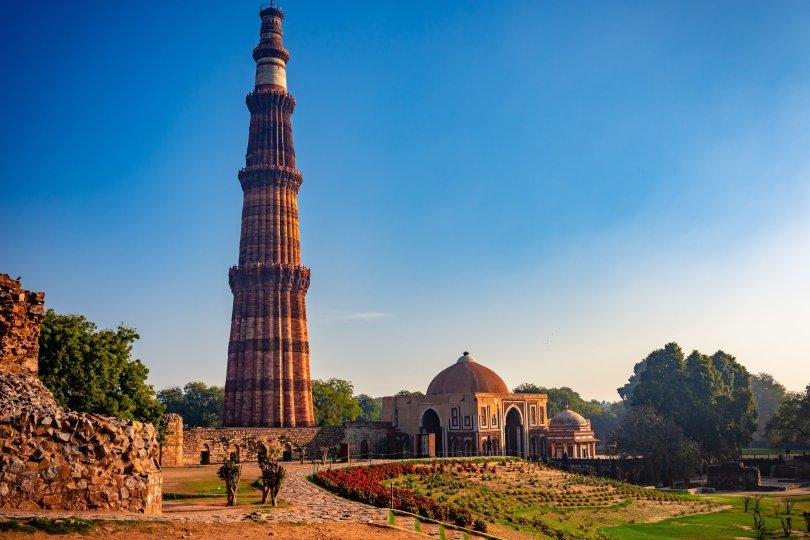 Qutub Minar is the highest minaret in India. (Shutterstock Photo)