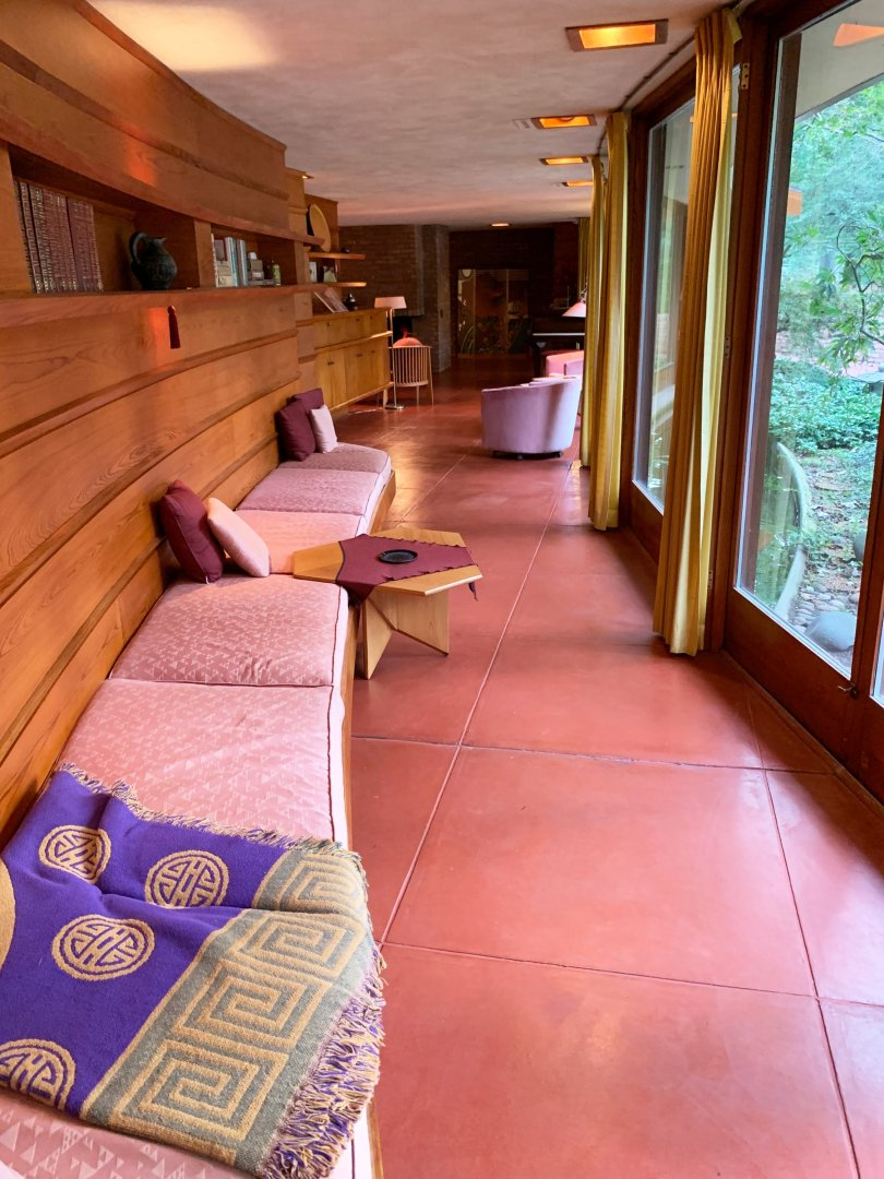 At the Laurent House in Springfield, visitors can marvel at how Wright