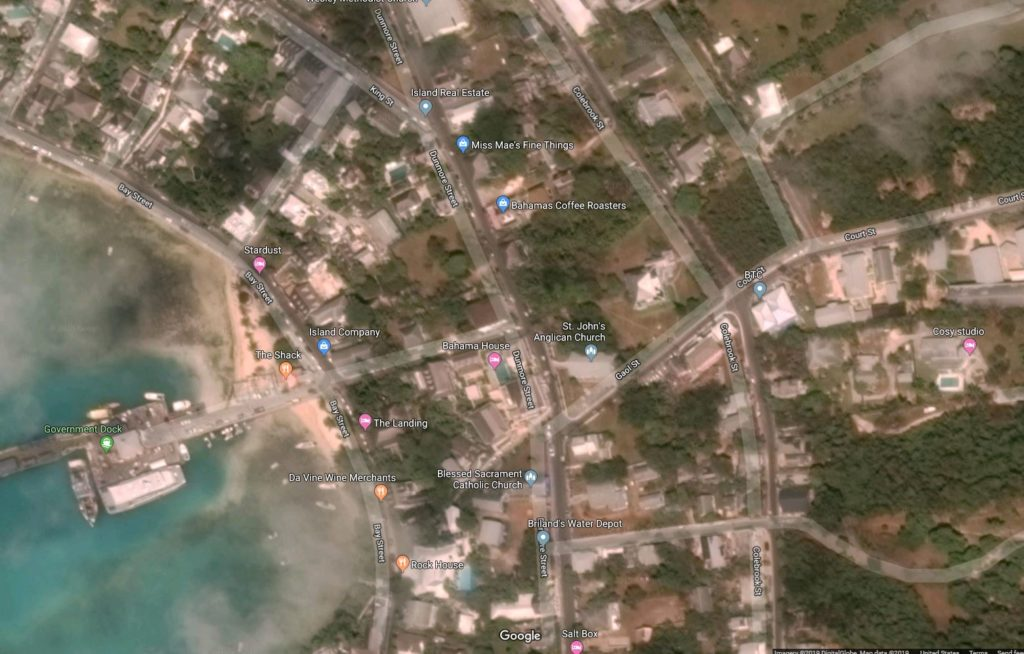The Residency, Harbour Island, Satellite View