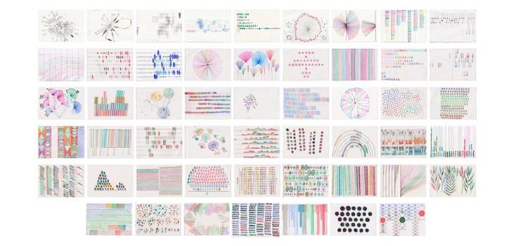 Dear Data postcards