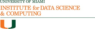 University of Miami Institute for Data Science and Computing formal logo