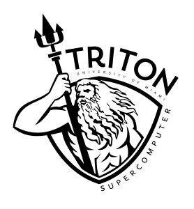 University of Miami TRITON Supercomputer logo