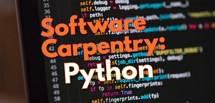 Software Carpentry Python Workshop