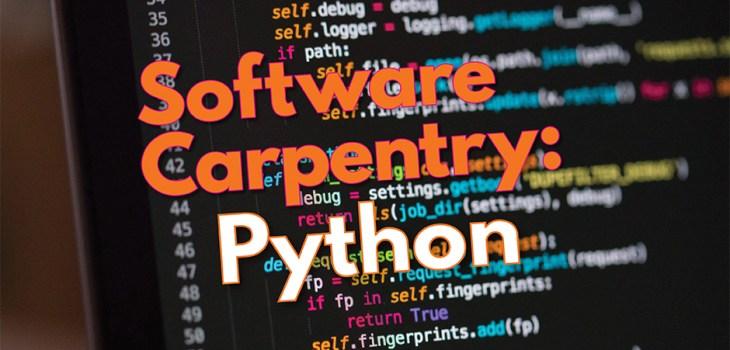 Software Carpentry Workshop Python